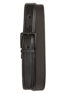 Cole Haan Reversible Nylon Inlay Leather Belt
