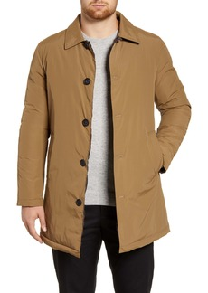 Cole Haan Reversible Quilted Mac Coat