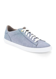 Cole Haan Round-Toe Lace-Up Sneakers