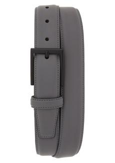 Cole Haan Rubberized Leather Belt