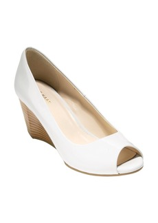 Cole Haan Sadie Open Toe Wedge Pump (Women)