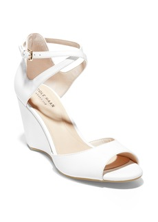 Cole Haan Sadie Open Toe Wedge Sandal (Women)