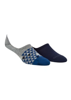 Cole Haan Set of Two Random Color Triangle No-Show Socks