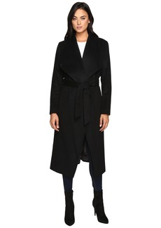 "Cole Haan Signature 46"" Draped Front Wrap Coat"