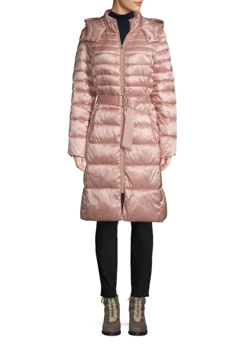 Cole Haan Signature Belted Puffer Coat