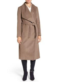 Cole Haan Signature Drape Front Wrap Coat