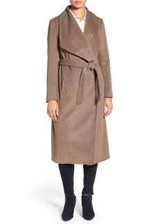 Cole Haan Signature Drape Front Wrap Coat