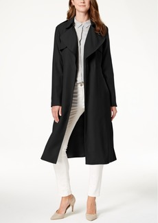 Cole Haan Signature Drapey Belted Trenchcoat