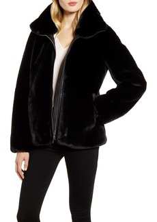 Cole Haan Signature Faux Fur Jacket