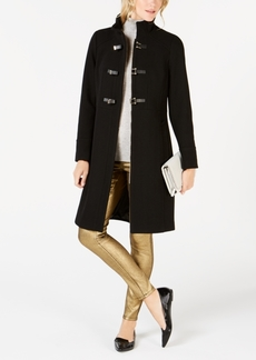 Cole Haan Signature Faux-Leather Toggle Walker Coat