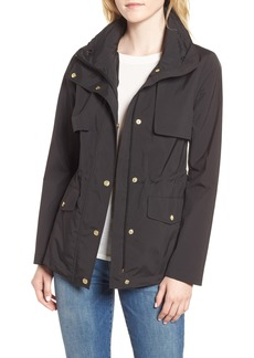 Cole Haan Signature Gunflap Packable Rain Jacket