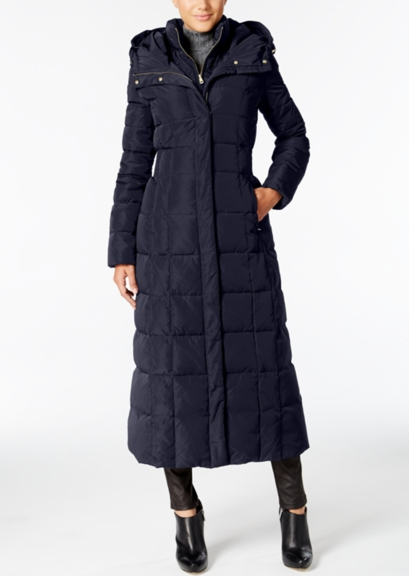 Cole Haan Cole Haan Signature Hooded Down Maxi Puffer Coat