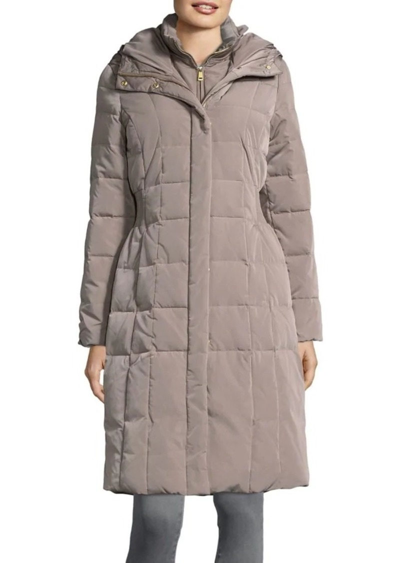 46374db566b Cole Haan Cole Haan Signature Hooded Quilted Down Coat