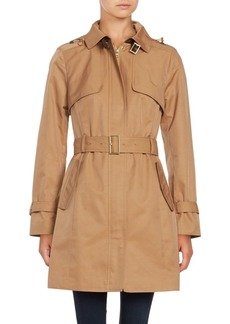 Cole Haan Signature Hooded Trenchcoat