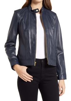 Cole Haan Signature Lambskin Leather Jacket
