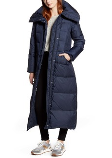 Cole Haan Signature Long Down & Feather Coat