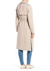 Cole Haan Signature Long Drapey Trench Coat