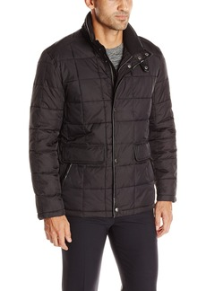 Cole Haan Signature Men's Box Quilt Down Jacket