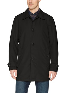 Cole Haan Signature Men's Classic Stand Collar rain Jacket  S