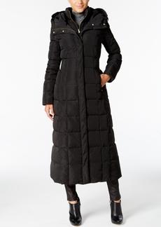 Cole Haan Signature Petite Layered Maxi Puffer Coat