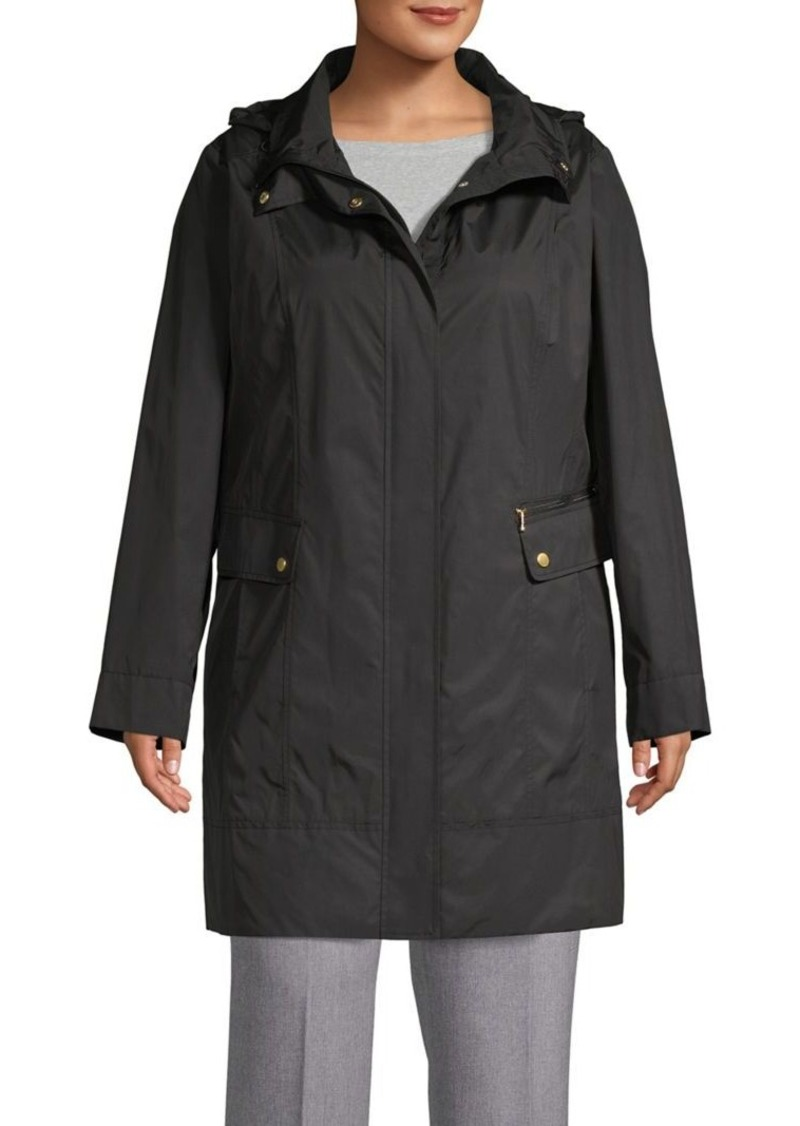 Cole Haan Signature Plus Hooded Packable Jacket