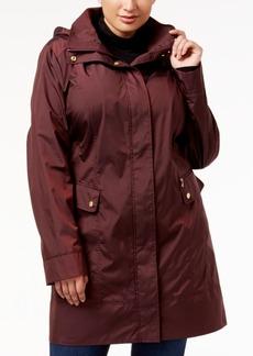 Cole Haan Signature Plus Size Packable Unlined Raincoat