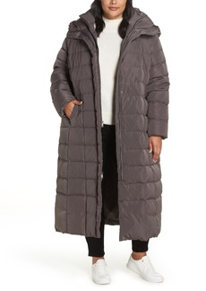 Cole Haan Signature Quilted Coat with Inner Bib (Plus Size)