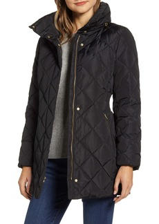 Cole Haan Signature Quilted Down & Feather Coat