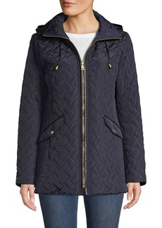 Cole Haan Signature Quilted Hooded Jacket