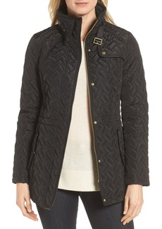 Cole Haan Signature Quilted Short Coat (Regular & Petite)