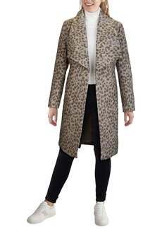 Cole Haan Signature Slick Wool Blend Wrap Coat
