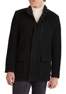 Cole Haan Signature Wool Blend Car Coat