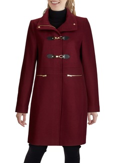 Cole Haan Signature Wool Blend Twill Coat (Women)