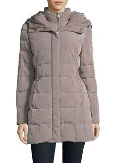 Cole Haan Signature Zip Front Down Filled Puffer Coat