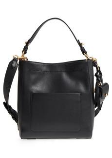 Cole Haan Small Zoe Leather Bucket Crossbody Bag