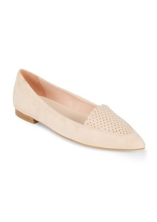 Cole Haan Suede Point Toe Flats