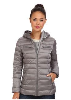 Cole Haan Sweater Down Light Weight Packable w/ Hood