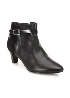Cole Haan Sylvan Leather & Suede Booties