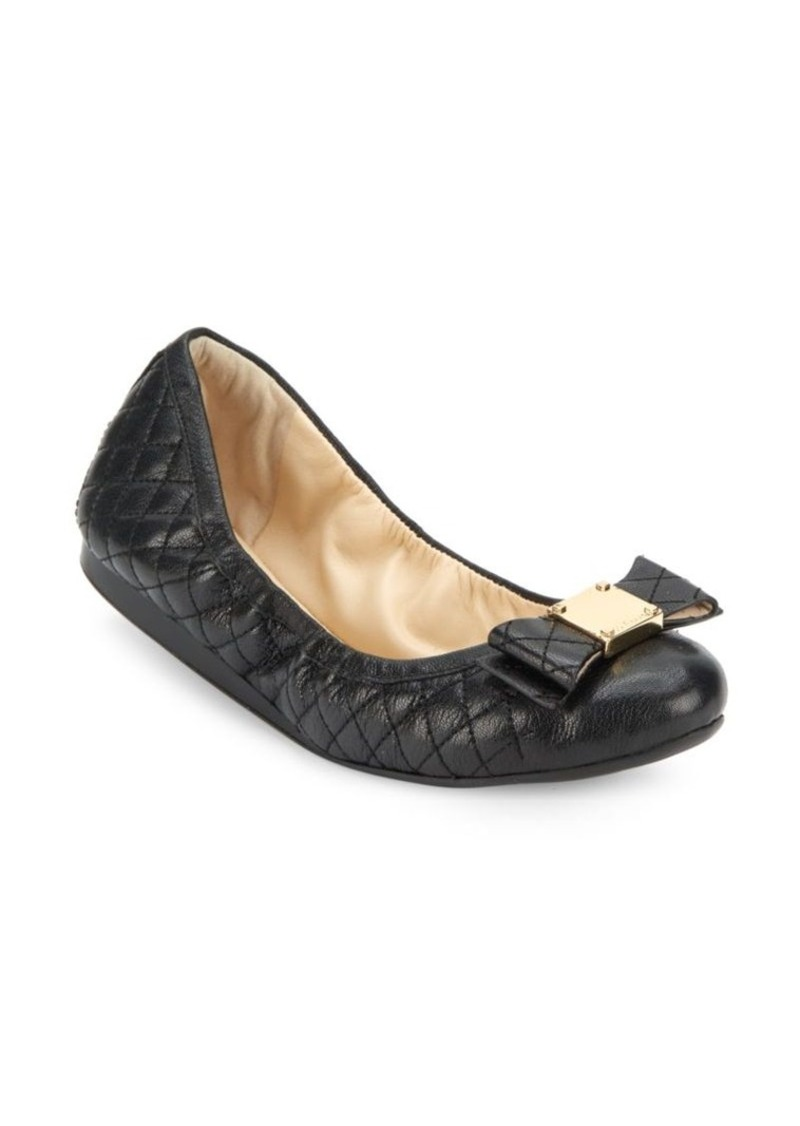 3483170a3b26 Cole Haan Cole Haan Tali Bow Quilted Bow Ballet Flats