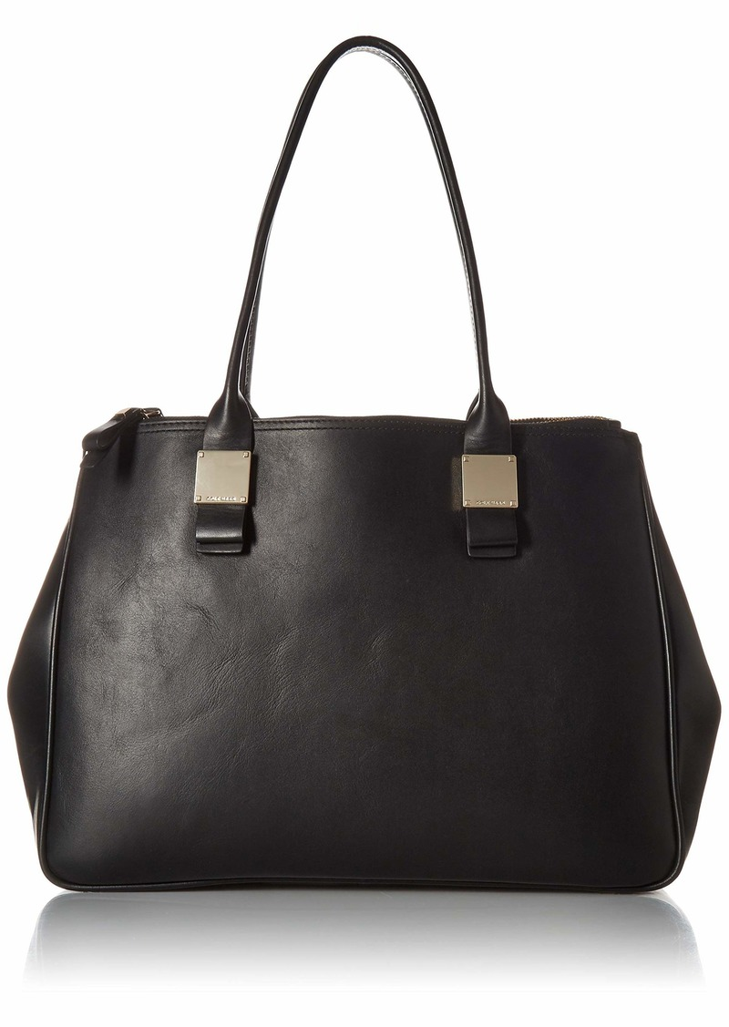 Cole Haan Tali Double Zip Leather Tote