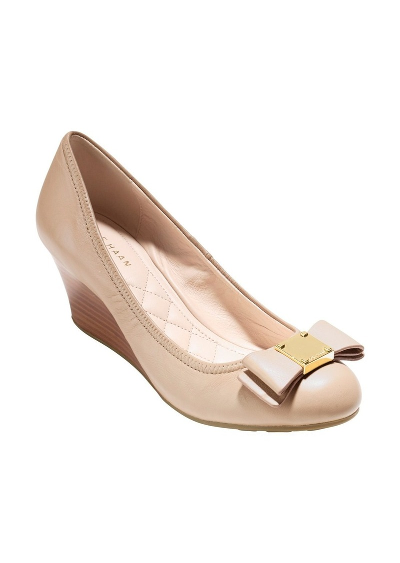 0f7d000d03a Cole Haan Cole Haan  Tali Grand  Bow Wedge Pump (Women)