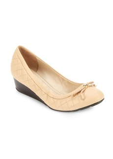 Cole Haan Tali Grand Leather Wedge Pumps