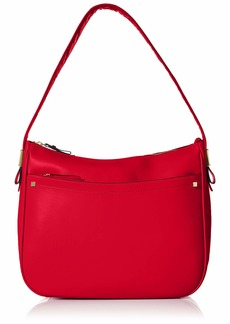 Cole Haan Tali Leather Hobo barbados cherry
