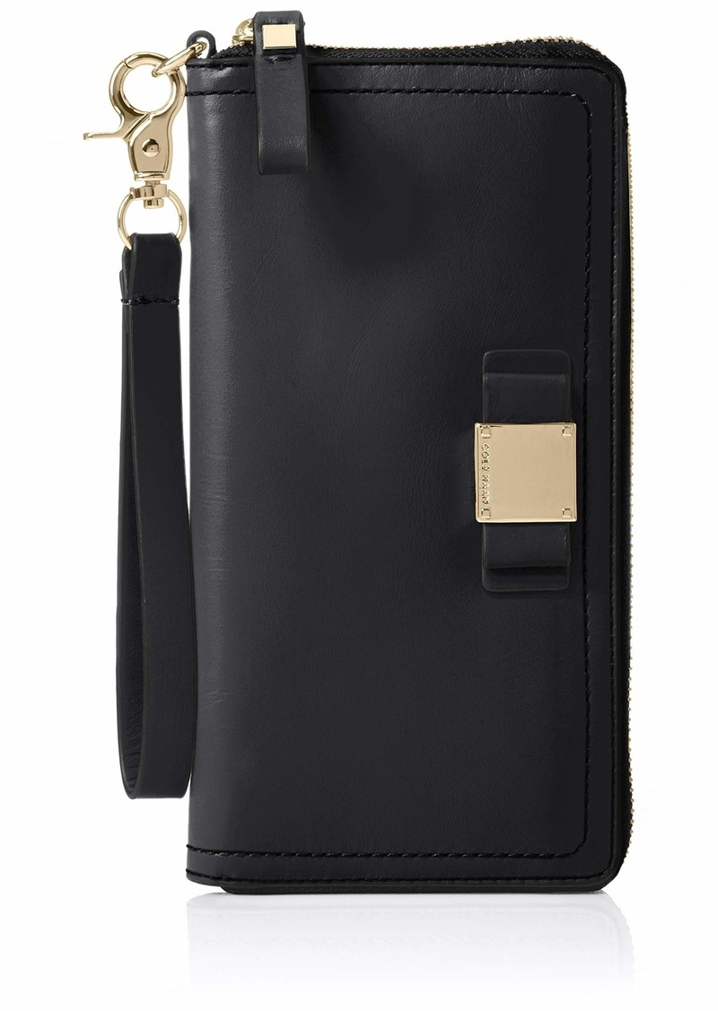 Cole Haan Tali Leather Zip Around Wallet