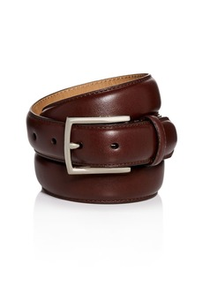 Cole Haan Topstitch Leather Belt