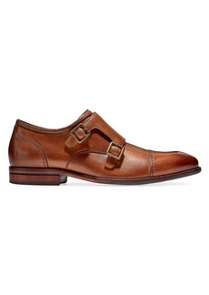 Cole Haan Warner Grand Leather Monk-Strap Shoes