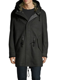 Cole Haan Water-Resistant Stretch Parka