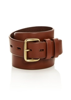 Cole Haan Waxed Leather Belt