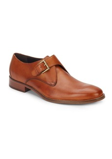 Cole Haan Williams Leather Monk-Strap Shoes