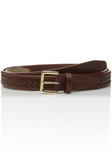 Cole Haan Women's 20mm Woven Belt with Binded Edge